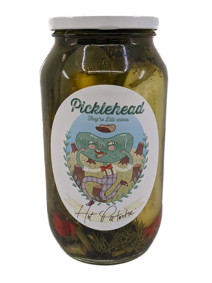 Picklehead Hot Patootie Pickles