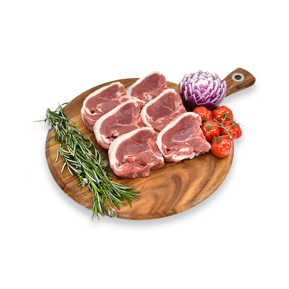 Lamb Loin Chops (Min 500g) - Super Butcher |