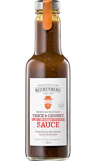 Beerenberg Thick & Chunky Worcestershire Sauce 300ml