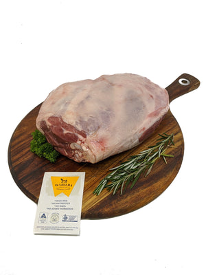 Organic Lamb Legs Whole | $27kg