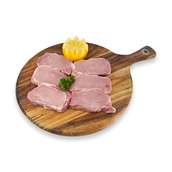 Boneless Pork Loin Steaks  | $16.99kg - Super Butcher |