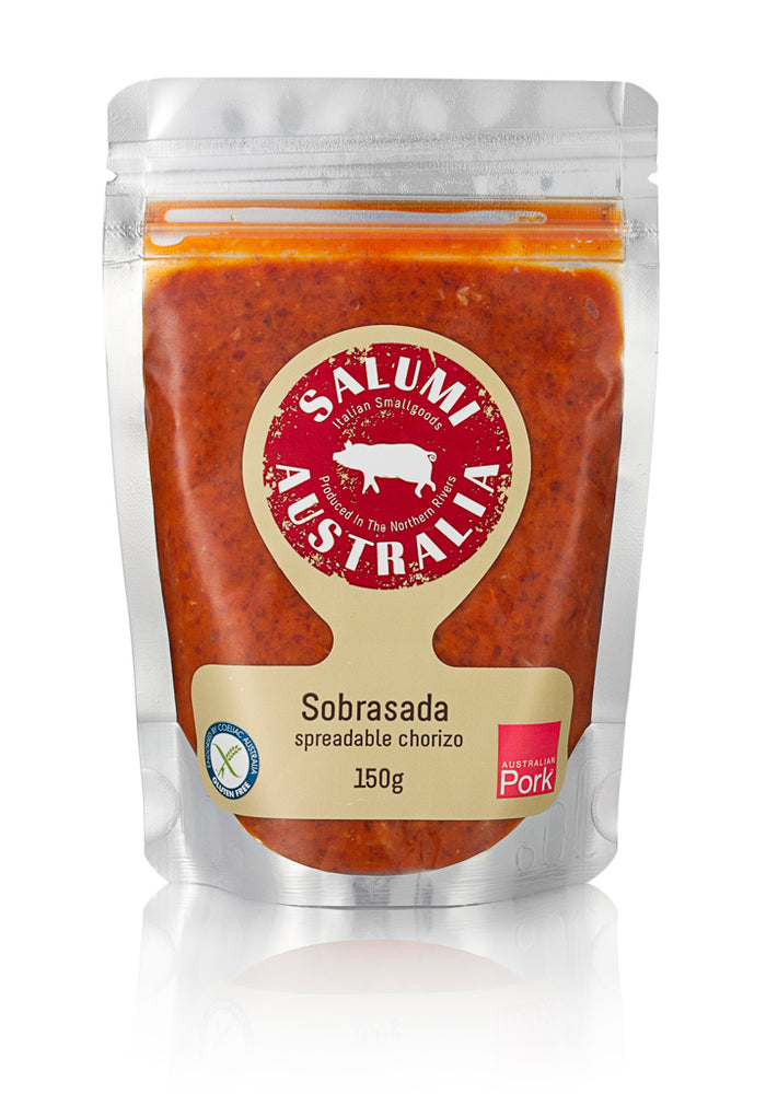Sobrasada - Paprika Infused Spreadable Chorizo - 150g