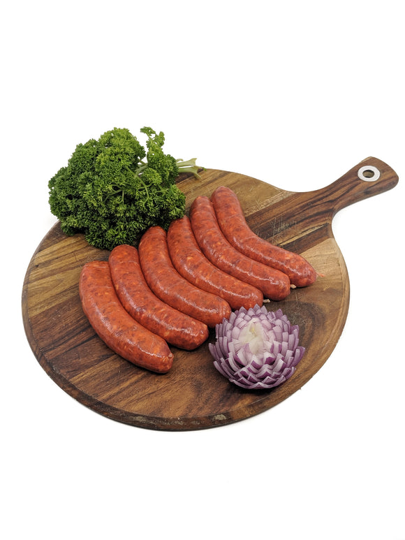 Texan Chilli Beef Sausage | $16.99kg