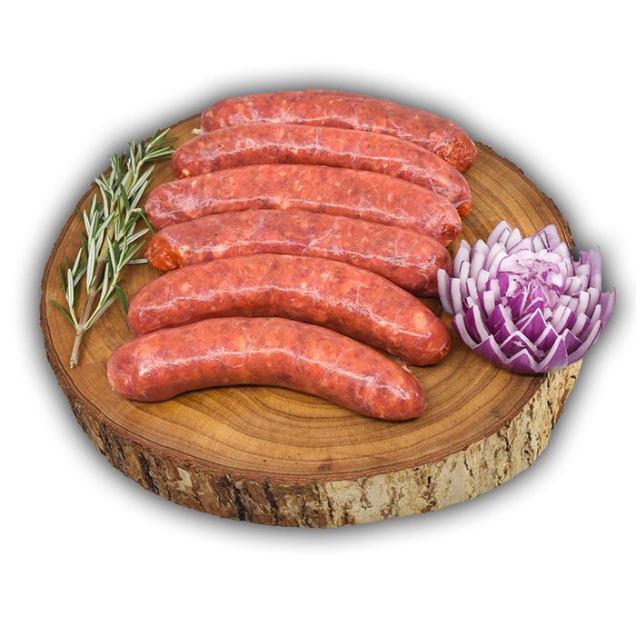 Thick Chunky Beef Sausage | $16.99kg