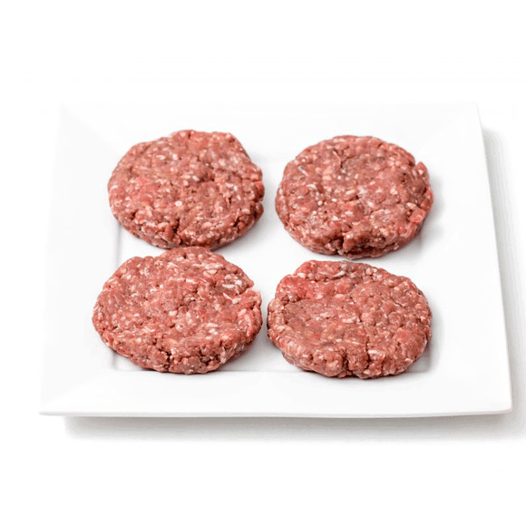 Smokey Bourbon Beef Burgers (8 For $16) - Super Butcher |