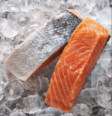 Skin On Salmon Portions | 200g