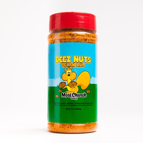 Meat Church Deez Nuts Honey Pecan Rub - Super Butcher |