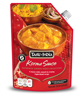 Taste of India Simmer Sauces