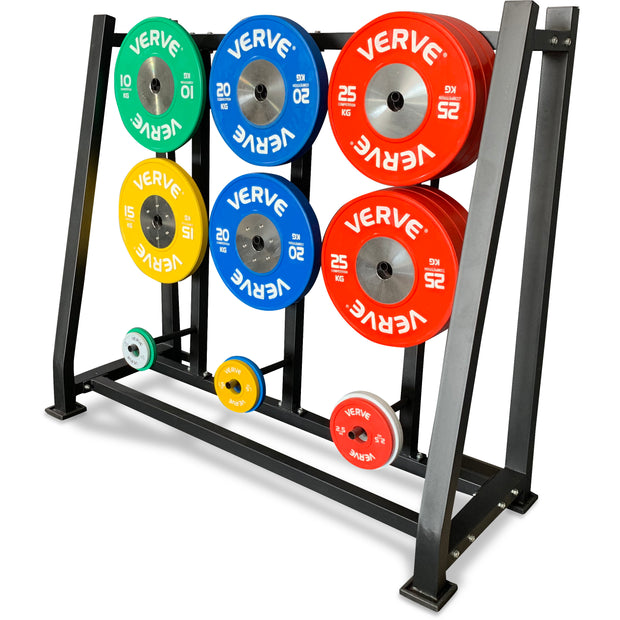 VERVE Floor Standing Weight Plate Holder - 9 Plates