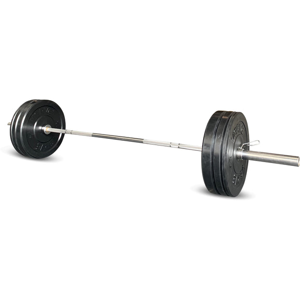 80KG Olympic Bumper Plate & Barbell Complete Set