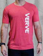 VERVE short sleeve t-shirt | Red