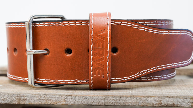 VERVE Leather Weightlifting Belt