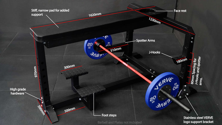VERVE Prone Row Bench