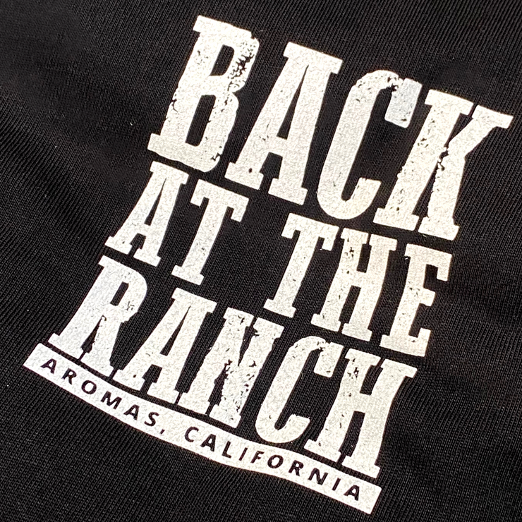 VERVE Back At The Ranch T-shirt | Black