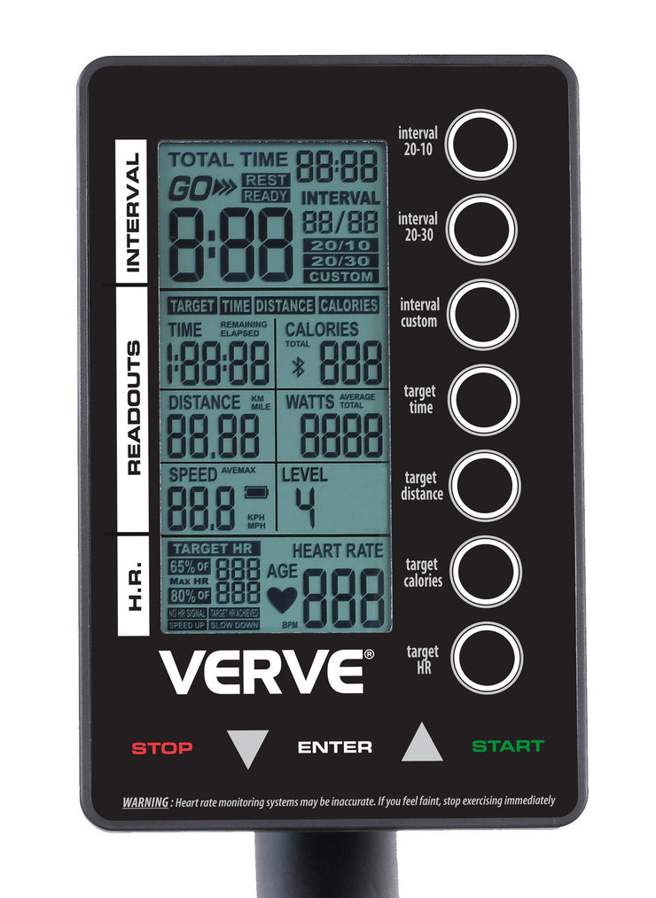 VERVE Air Runner with Magnetic Resistance