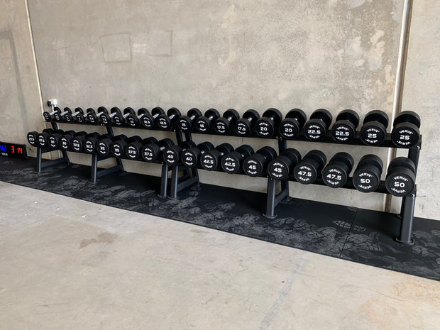 VERVE Large Dumbbell Rack to display 20 Dumbbells
