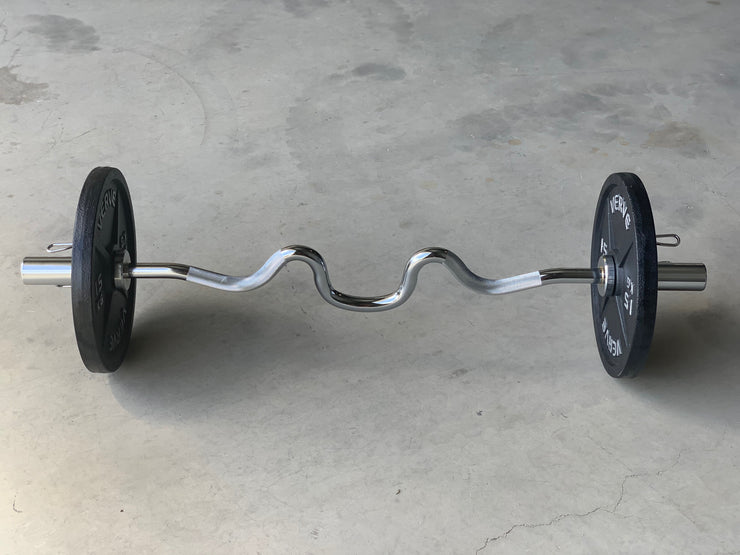 VERVE Olympic Super Curl Bar - 4'