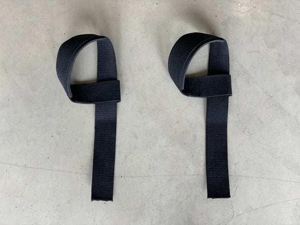 Weight Lifting Straps Black