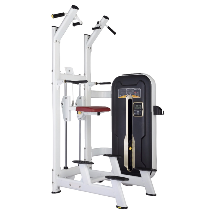Assisted Chin Dip Machine - Black