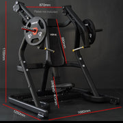 Zeus Incline Chest Press Plate Loaded Machine