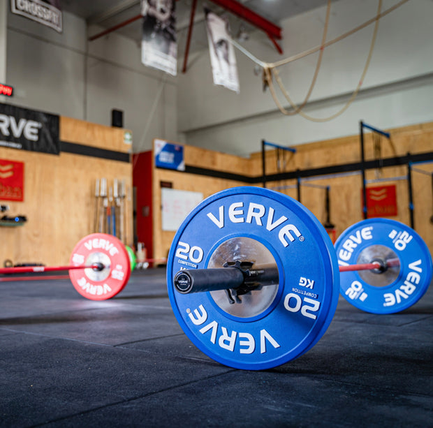 VERVE Calibrated Competition Bumper Plates