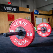 SOLD OUT EXCEPT 25KG PAIRS AVAILABLE | | VERVE Calibrated Competition Bumper Plates