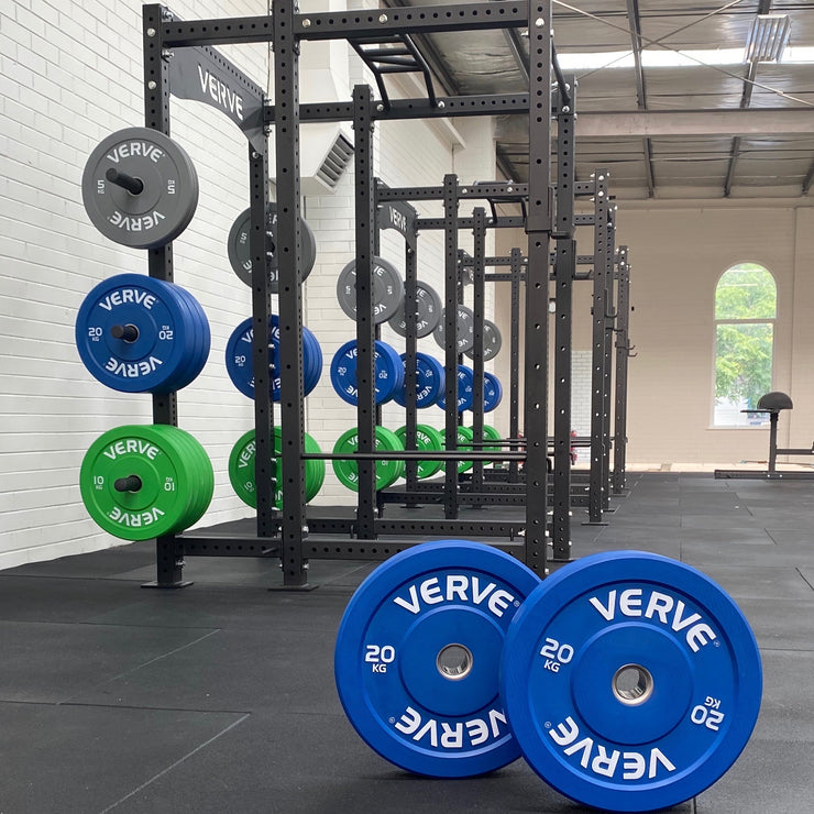 VERVE Colour Olympic Bumper Plates | PRE-ORDER EXPECTED DECEMBER