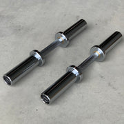 Olympic Dumbbell Handles with Bushings (Pair of 2)