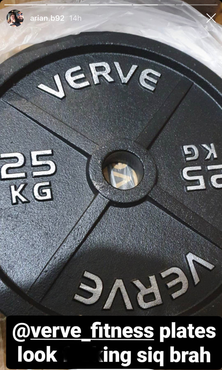 VERVE Olympic Iron Plates | PRE-ORDER EXPECTED JANUARY