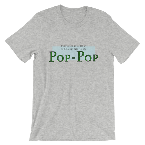 Pop-Pop: Top of the DAD game!
