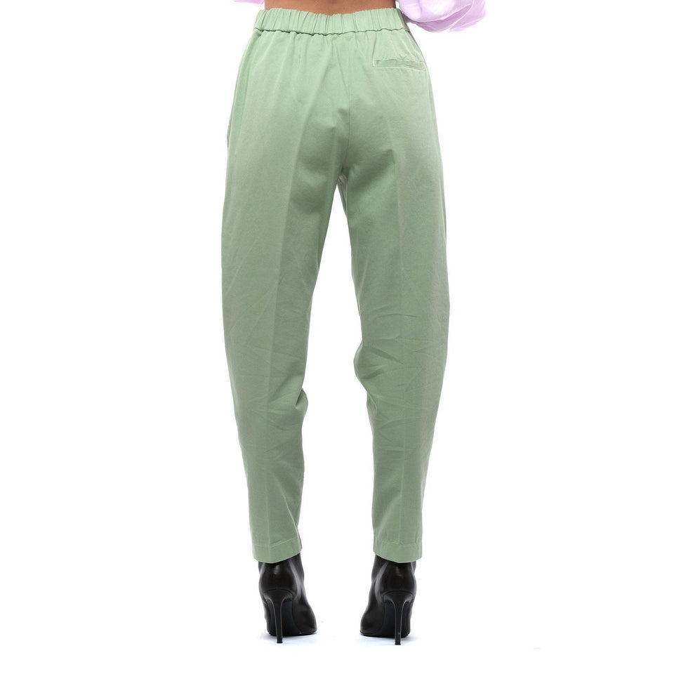 Pants for women FORTE FORTE 8029 MINT