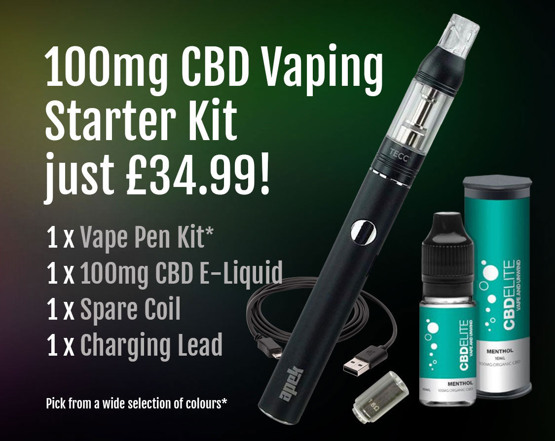 100mg CBD Starter Kit for £34.99