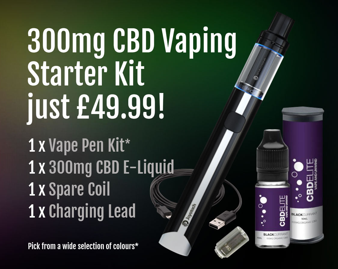 300mg CBD Starter Kit for £49.99