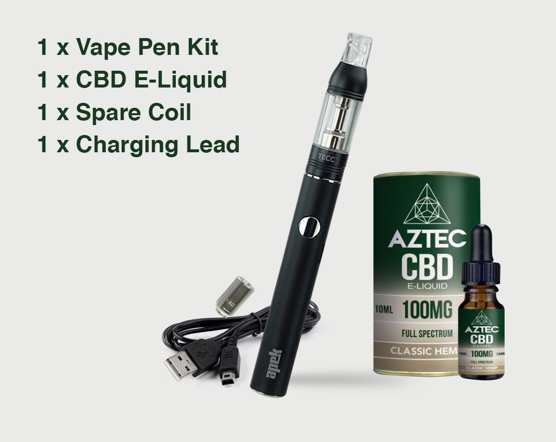 Aztec CBD Pen Starter Kit from £34.99