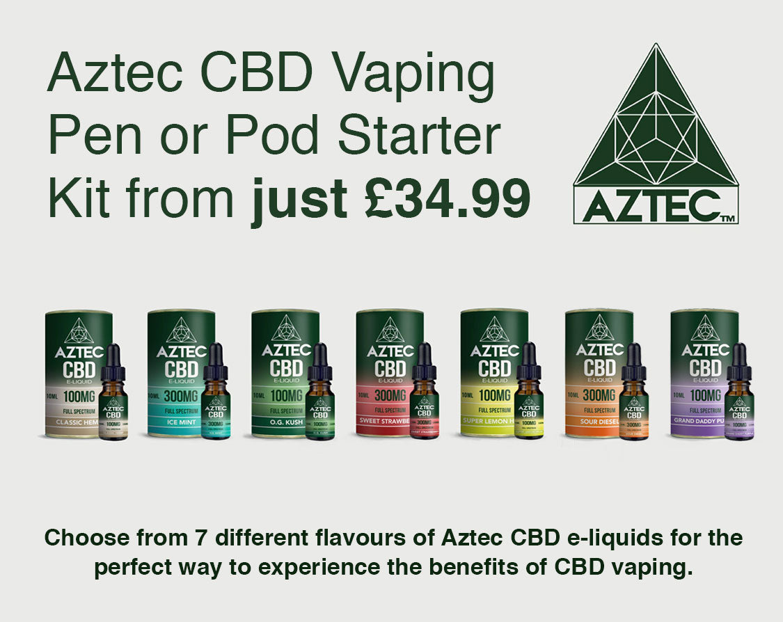 Aztec CBD Starter Kit from £34.99