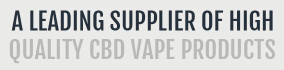 A leading supplier of CBD vaping equipment and e-liquids