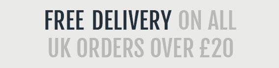 Free UK delivery on all orders over £20