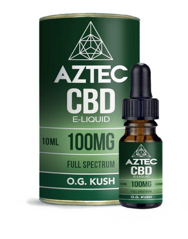 Aztec CBD 10ml / 100mg Aztec OG Kush Full Spectrum CBD E-Liquid