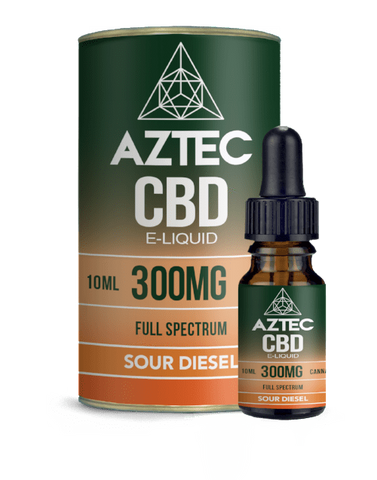 Aztec CBD 10ml / 300mg Aztec Sour Diesel Full Spectrum CBD E-Liquid