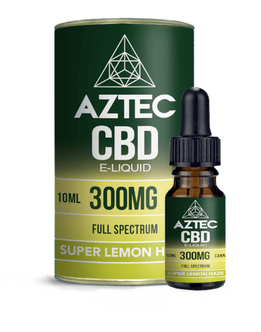Aztec CBD 10ml / 300mg Aztec Super Lemon Haze Full Spectrum CBD E-Liquid