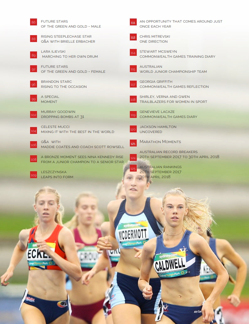 AUSTRALIAN ATHLETE - 2 X ISSUE SUBSCRIPTION PACK (June & December)