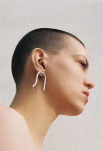 Cave earrings L - pu·rist