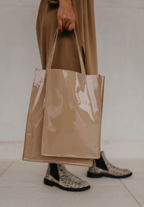 DOUBLE SHOPPER bags from Mieke Dierckx curated by pu·rist