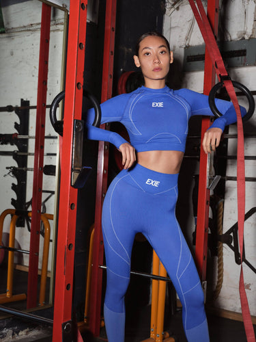 VIPER LEGGING - COBALT BOTTOMS from EXIE curated by pu·rist