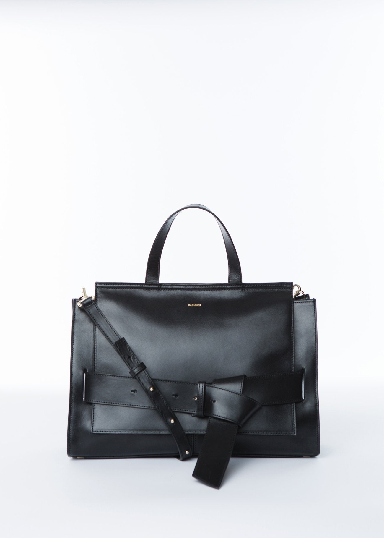 ISHTAR LADY BAG | BLACK bags from nadītum curated by pu·rist