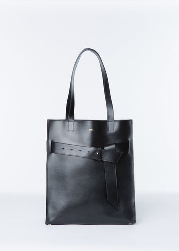 ISHTAR SHOPPER | BLACK bags from nadītum curated by pu·rist