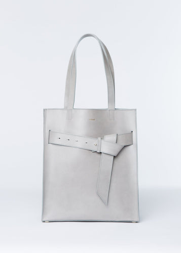 ISHTAR SHOPPER | WHITE bags from nadītum curated by pu·rist
