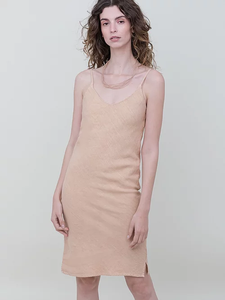 SOPHIE slip dress | clay