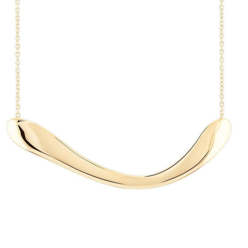 Boomerang Big Necklace Necklace from Wonther curated by pu·rist