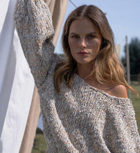 Load image into Gallery viewer, Floo Straw | Knitted Puff-sleeve Pull-Sweaters-charlotte pringels-pu·rist